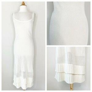 Sunny Knit Ruffle Hem Dress